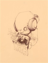 sans titre (dj) by dran
