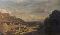 paysage de la campagne normande by camille flers