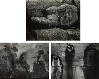 selected images (3 works) by aaron siskind