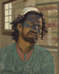 an arab man by ludwig deutsch