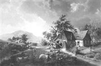 die wassermühle by hermann kramer