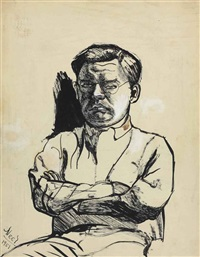 the communist by alice neel