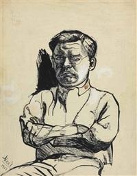 the communist by alice neel