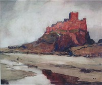 bamburgh castle by kate cameron