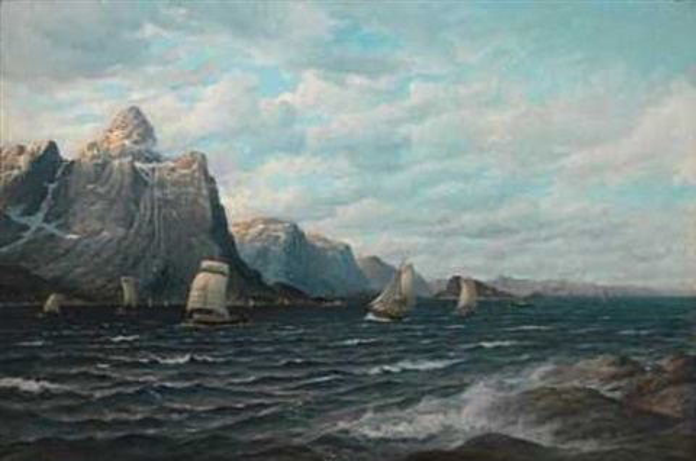 norske båter langs kysten by zackarais martin aagaard