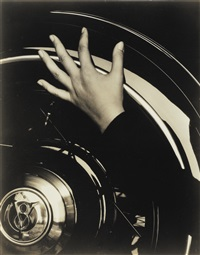 hand and ford car by alfred stieglitz