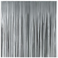 poured lines: mixed greys and black by ian davenport