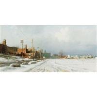 old waterfront by dusan kadlec