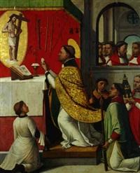 la messe de saint grégoire by juan correa de vivar