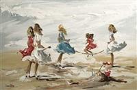beach games by lorna miller