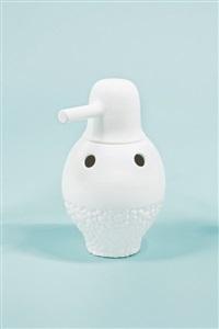 showtime vase 1 - white by jaime hayon