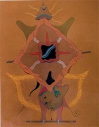 dieux de force, n°3 by jorge camacho