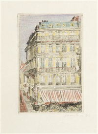 boulevard anspach by james ensor
