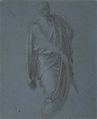 study of a classical figure by pietro benvenuti