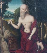 saint jérôme by lucas gassel