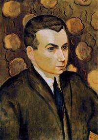portrait de katznelson,1912 by moïse kisling