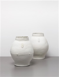 large pots (2 works) by hella jongerius