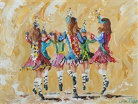 irish dancers by lorna millar