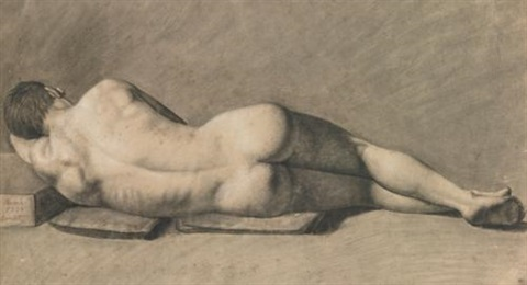 nu dhomme by jean baptiste camille corot