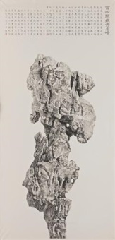 strange rock by liu dan