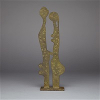 couple (hommage a rodin) by robert couturier