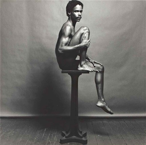 philip prioleau by robert mapplethorpe
