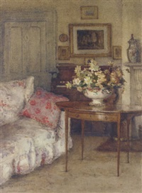 the drawing room, st. michael's rectory, cork by kate dobbin