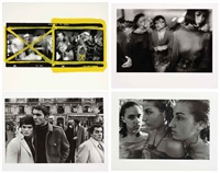 a selection of photographs (4 works) by william klein