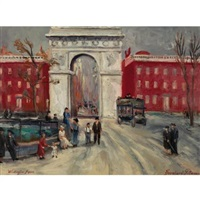washington square by bernhard gutmann