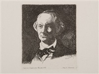 portrait charles baudelaire by édouard manet