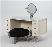 dressing table and stool by alfons hetmanek and franz kaym