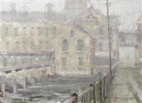 early morn in the mill by dan gerhartz