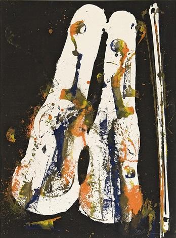 komposition med violiner och stråke by arman