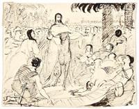 christ's triumphal entry into jerusalem by benjamin robert haydon