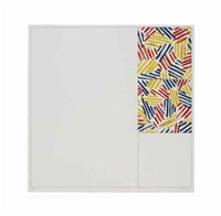 #5 (from 6 lithographs; after untitled 1975) by jasper johns
