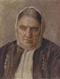 bildnis einer alten dame by vlaho bukovac and jelica bukovac-radosavljevic