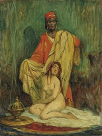 a rabszolgakereskedo (the slave trader) by geza udvary