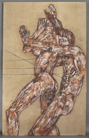 the assassin by leon golub