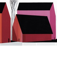 barn patterns by eyvind earle