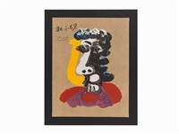 portraits imaginaire by pablo picasso