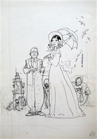beauté au parapluie (n ° 12) by alexandre coutelis