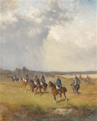 ungarische husaren by alexander ritter von bensa