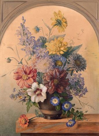 bouquet de fleurs by arnoldus bloemers