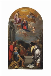 the ascension of the virgin by philip gyselaer