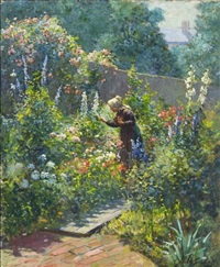 in the garden by abbott fuller graves