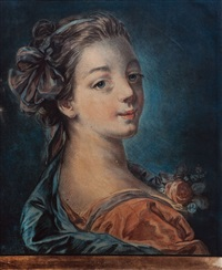 portait de madame deshayes by louis marin bonnet