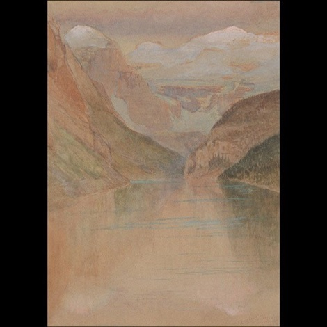lake louise by louis comfort tiffany