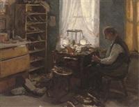 at the cobbler's workshop by robert von stutterheim