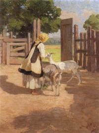 feeding the goats by nicholaos othoneos