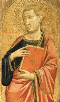 saint john the evangelist by agnolo di taddeo gaddi